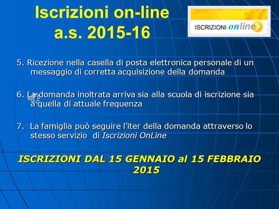 Iscrizioni on-line a.s. 2015-16