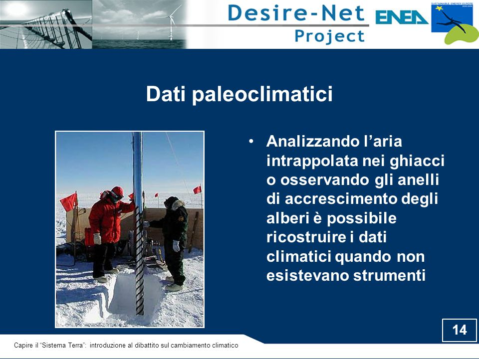 Dati paleoclimatici