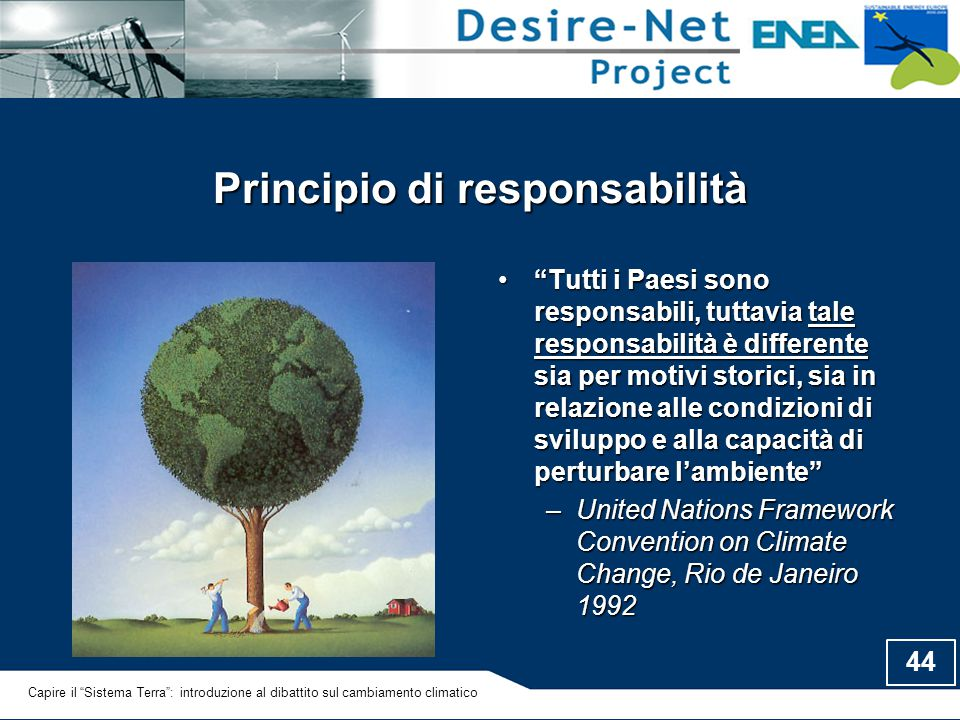 Principio di responsabilità