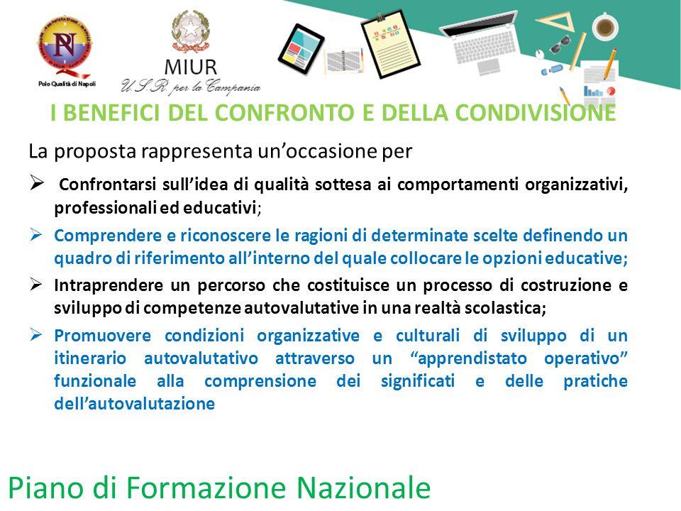 I BENEFICI DEL CONFRONTO E DELLA CONDIVISIONE
