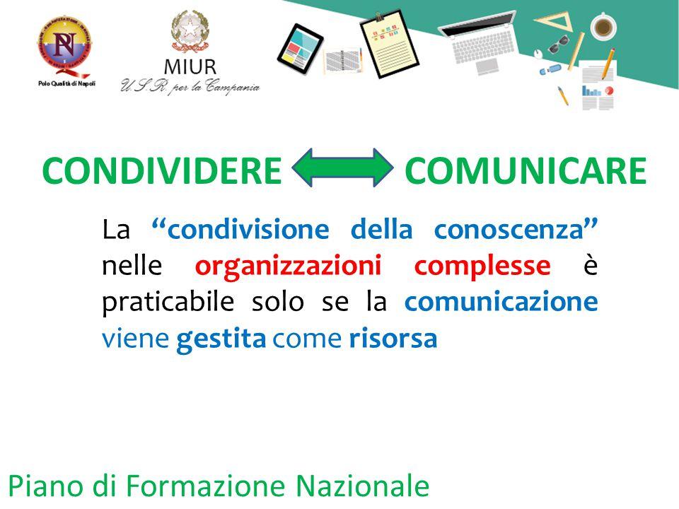 CONDIVIDERE COMUNICARE