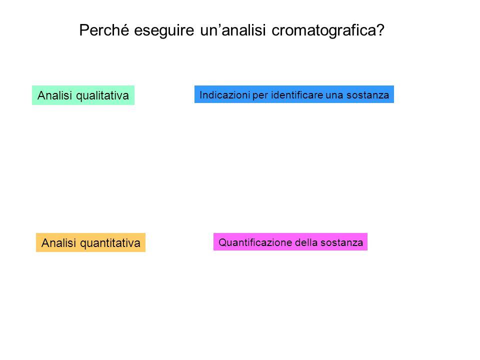 Perché eseguire un'analisi cromatografica