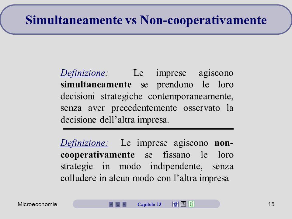 Simultaneamente vs Non-cooperativamente