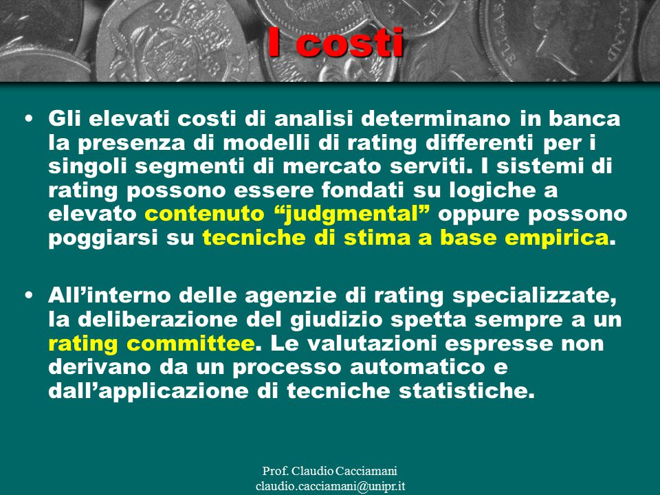 Prof. Claudio Cacciamani claudio.cacciamani@unipr.it