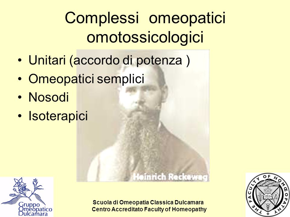 Complessi omeopatici omotossicologici