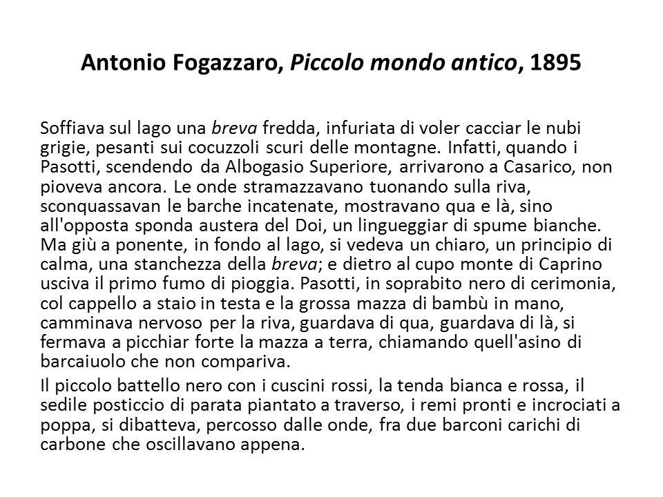 Antonio Fogazzaro, Piccolo mondo antico, 1895