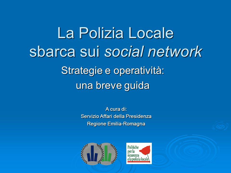 La Polizia Locale sbarca sui social network