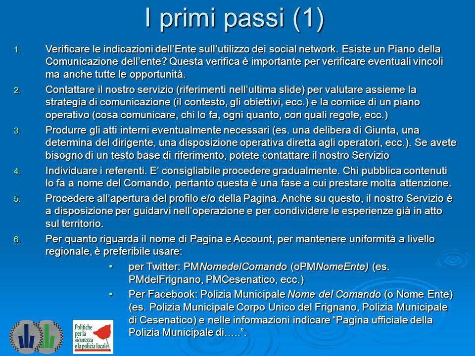 I primi passi (1)