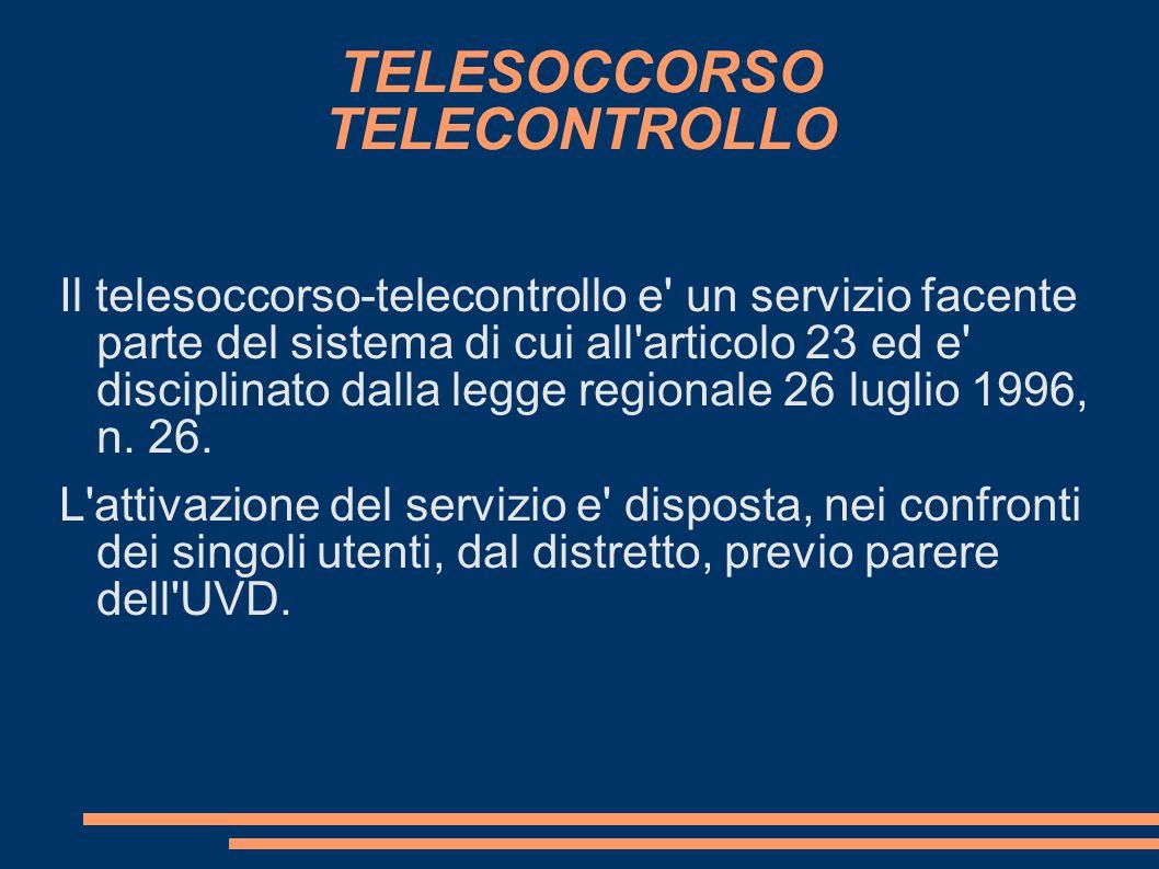 TELESOCCORSO TELECONTROLLO
