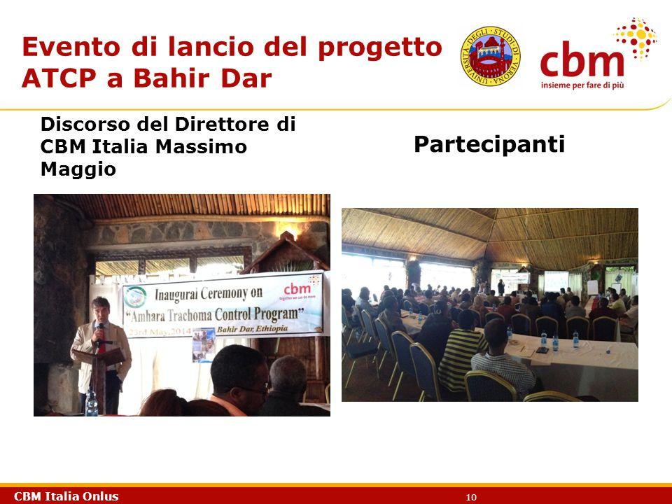 Evento di lancio del progetto ATCP a Bahir Dar