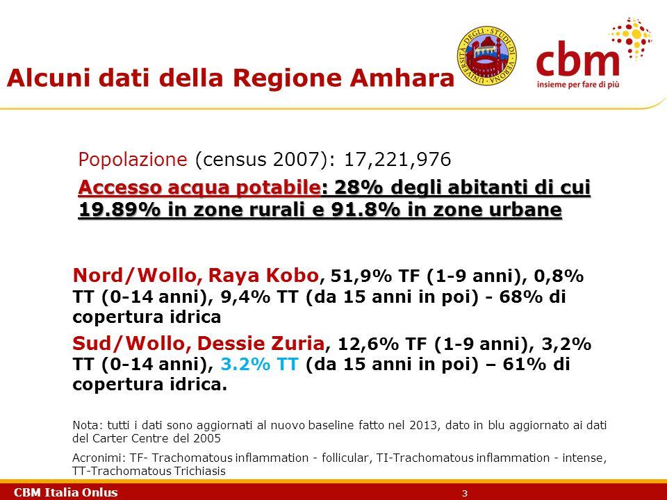 Alcuni dati della Regione Amhara
