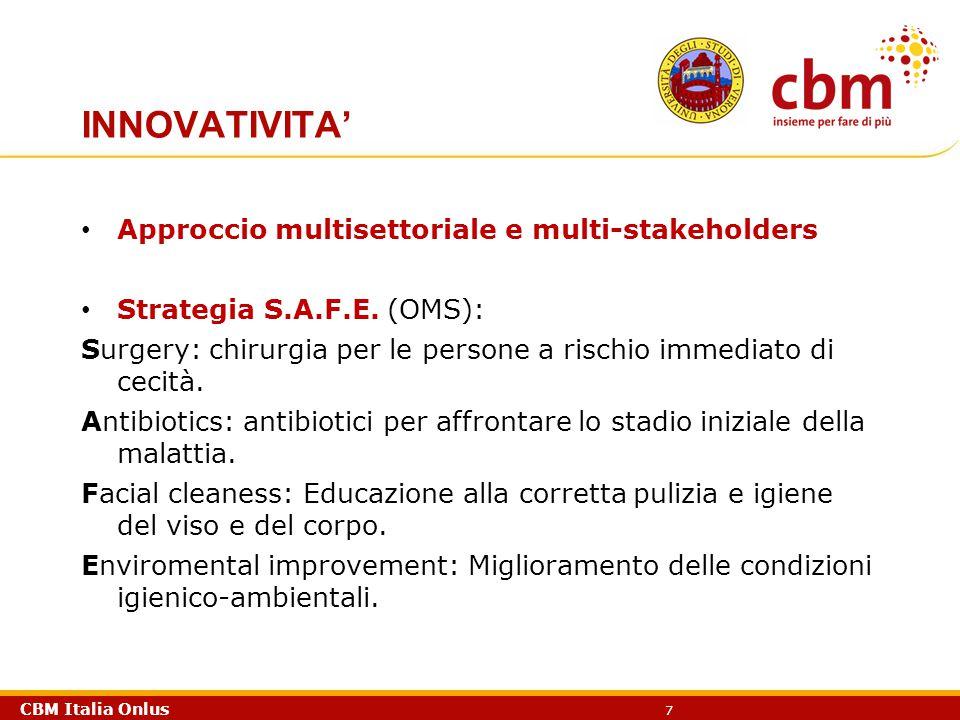 INNOVATIVITA' Approccio multisettoriale e multi-stakeholders