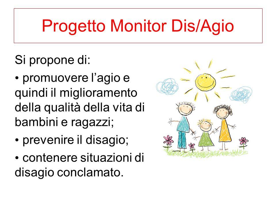 Progetto Monitor Dis/Agio