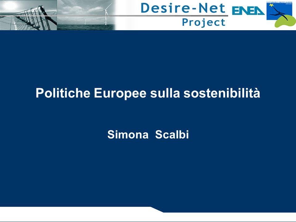 Politiche Europee sulla sostenibilità