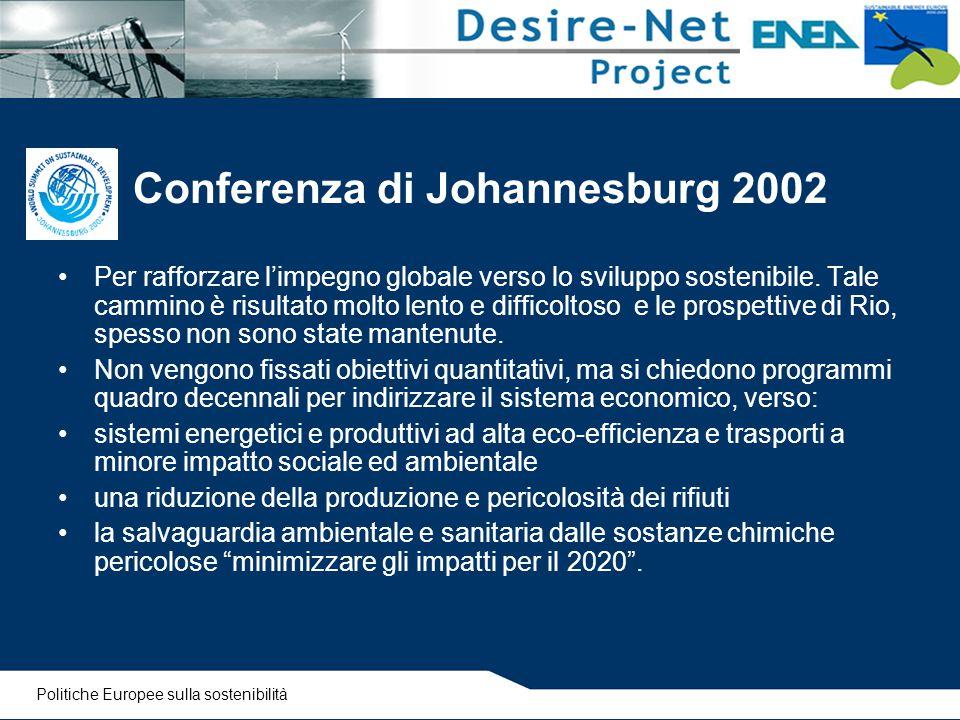 Conferenza di Johannesburg 2002