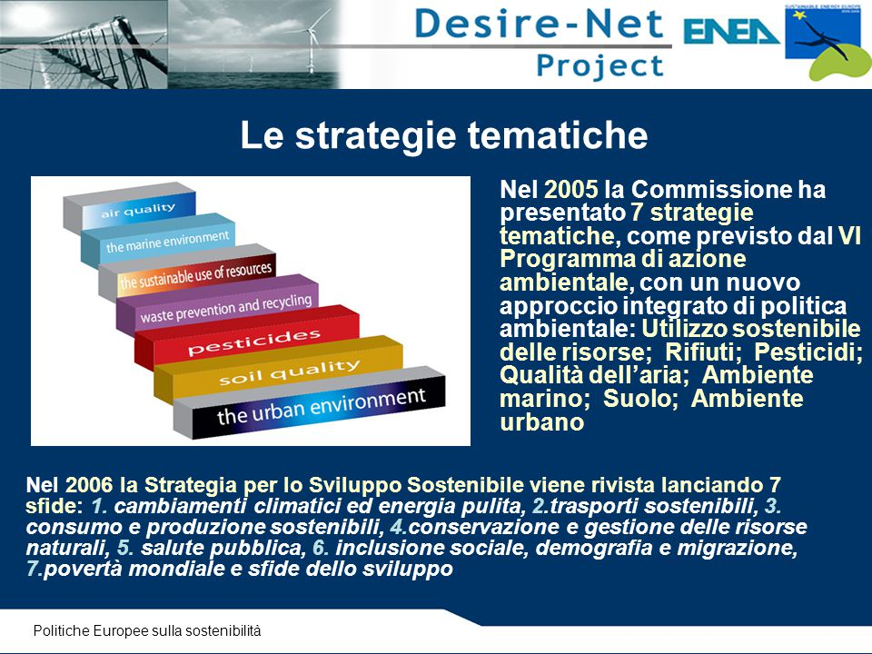 Le strategie tematiche