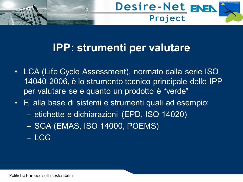 IPP: strumenti per valutare