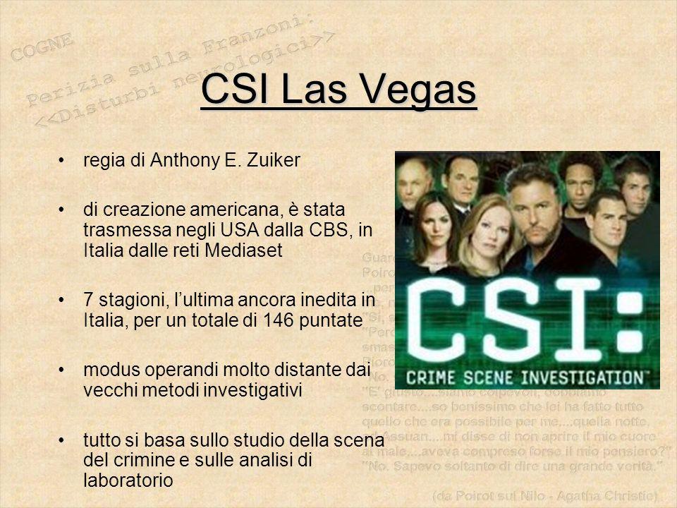 CSI Las Vegas regia di Anthony E. Zuiker