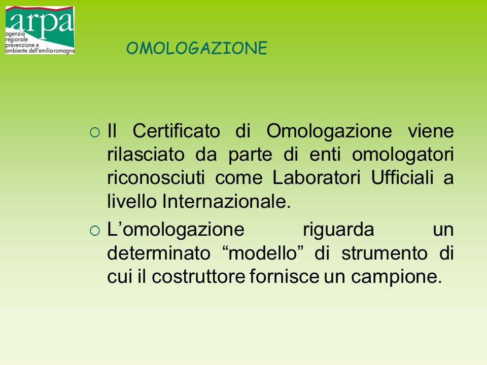 OMOLOGAZIONE