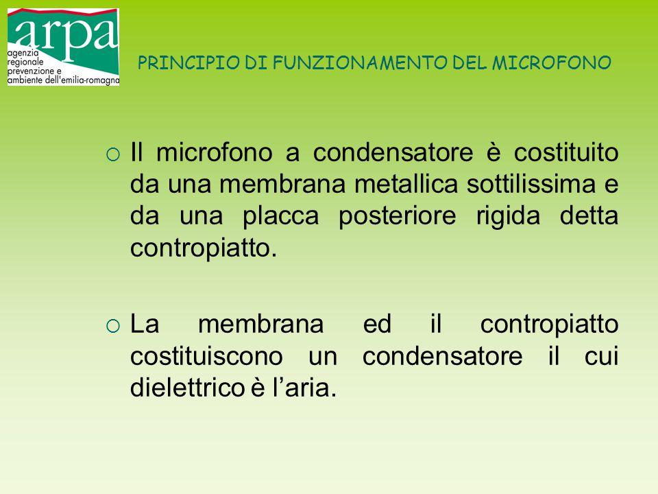 PRINCIPIO DI FUNZIONAMENTO DEL MICROFONO