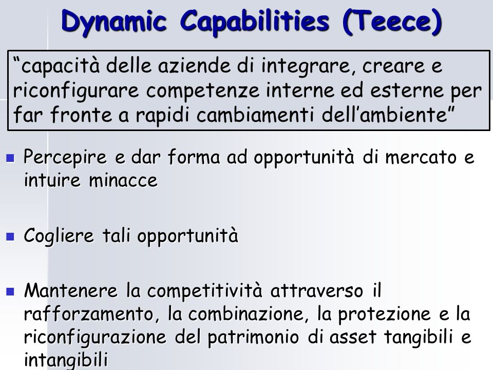 Dynamic Capabilities (Teece)