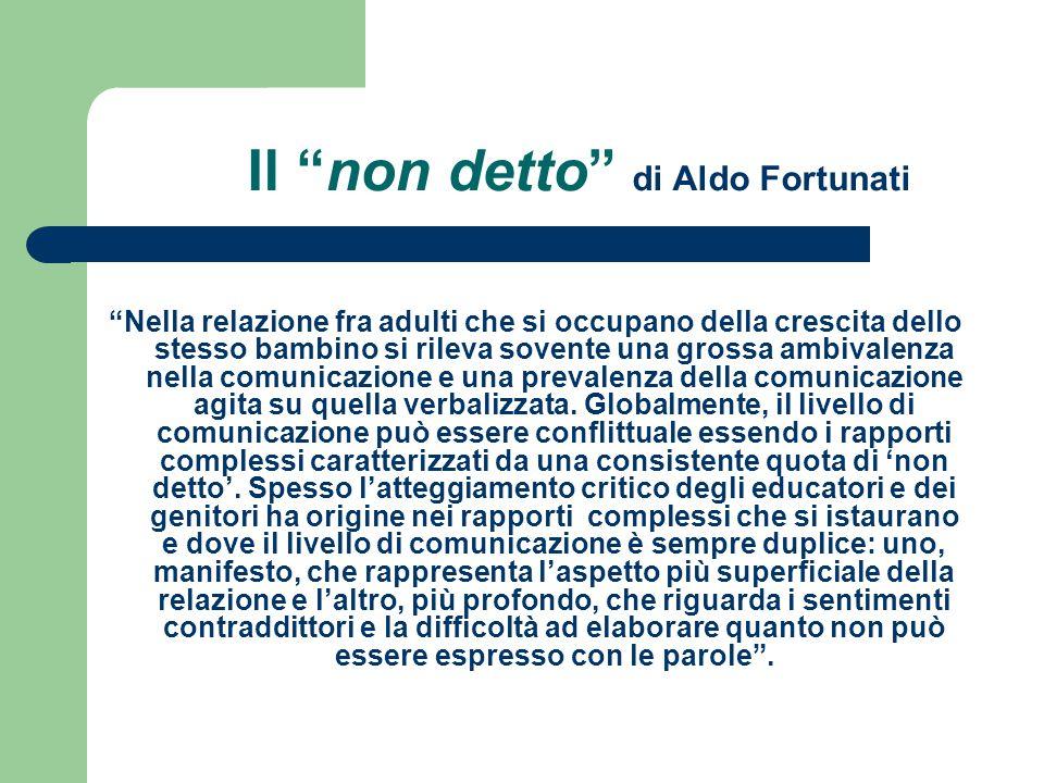 Il non detto di Aldo Fortunati