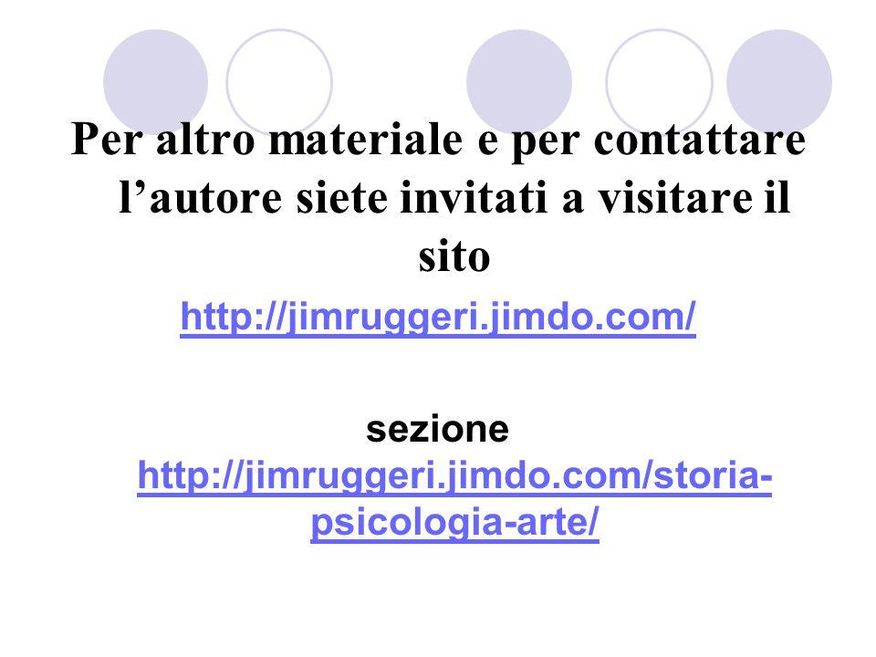 sezione http://jimruggeri.jimdo.com/storia-psicologia-arte/