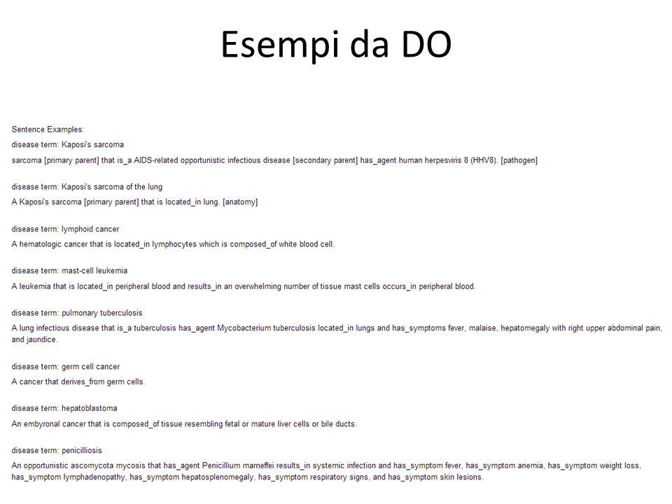 Esempi da DO