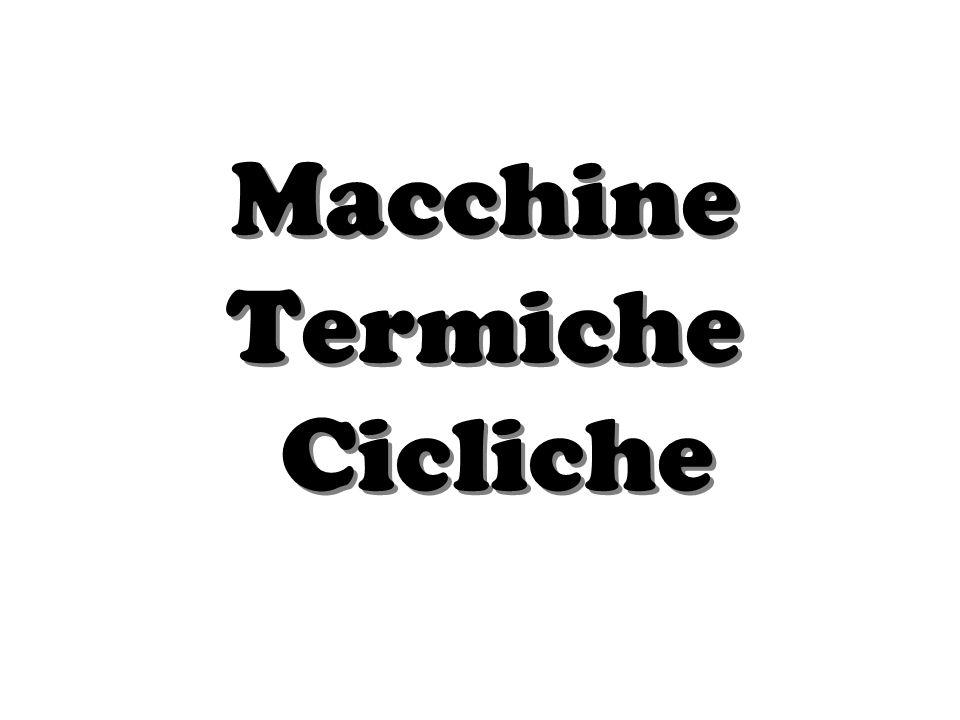 Macchine Termiche Cicliche