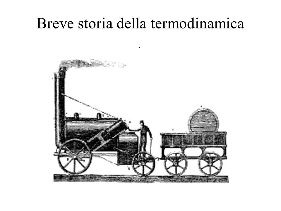Breve storia della termodinamica