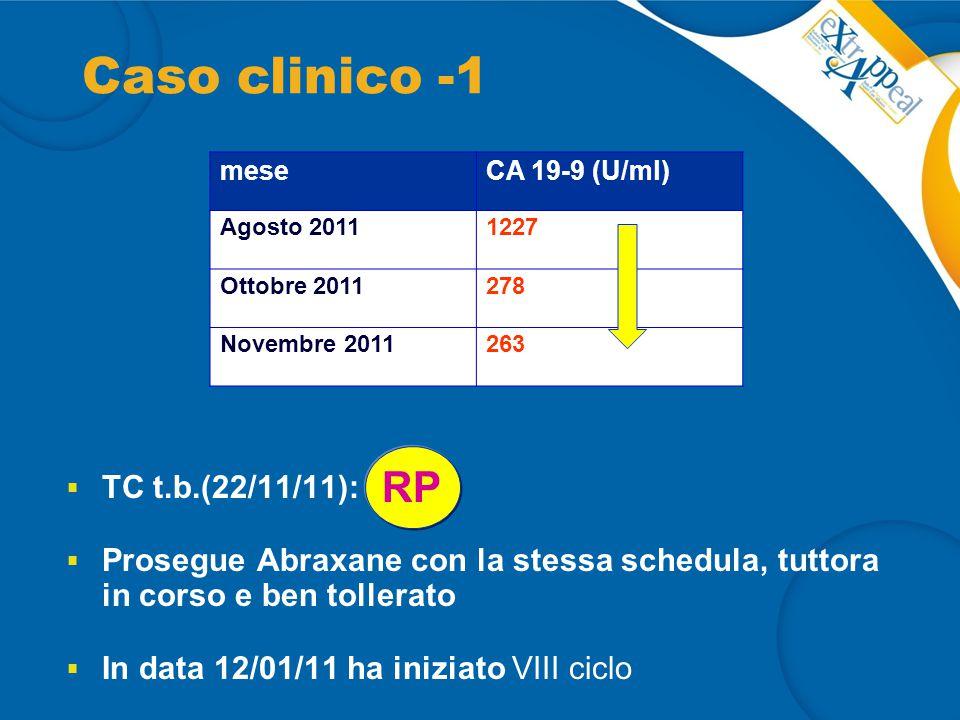 Caso clinico -1 RP TC t.b.(22/11/11):