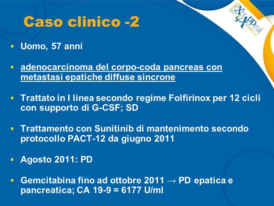 Caso clinico -2 Uomo, 57 anni