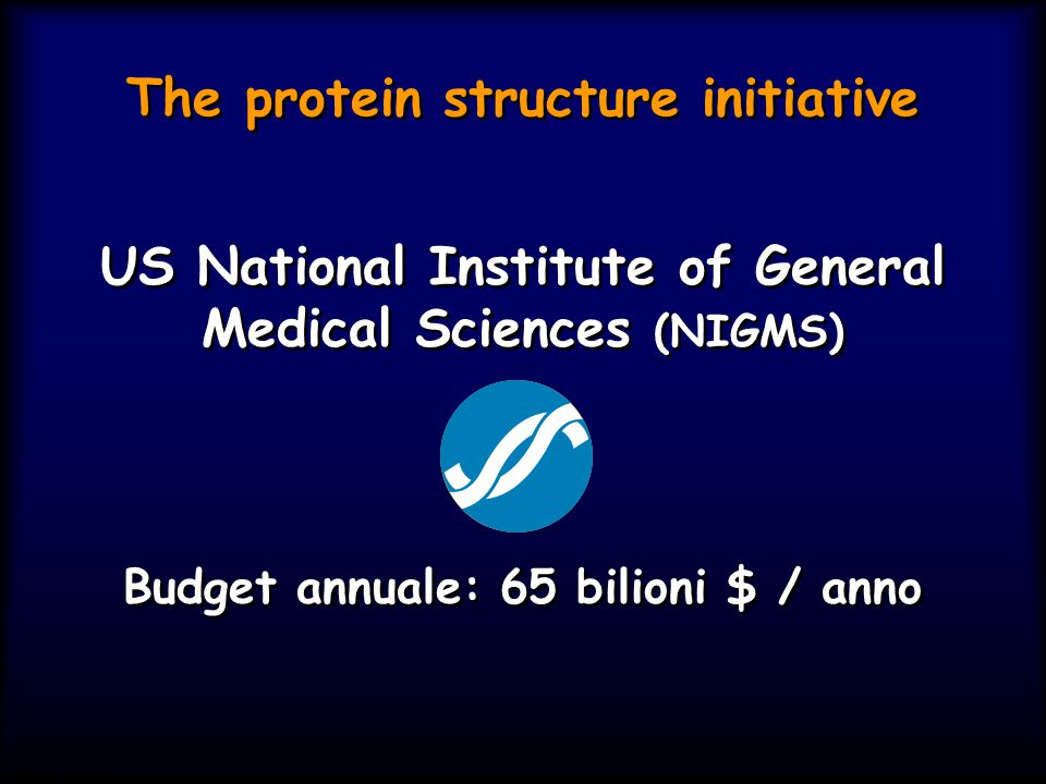 The protein structure initiative