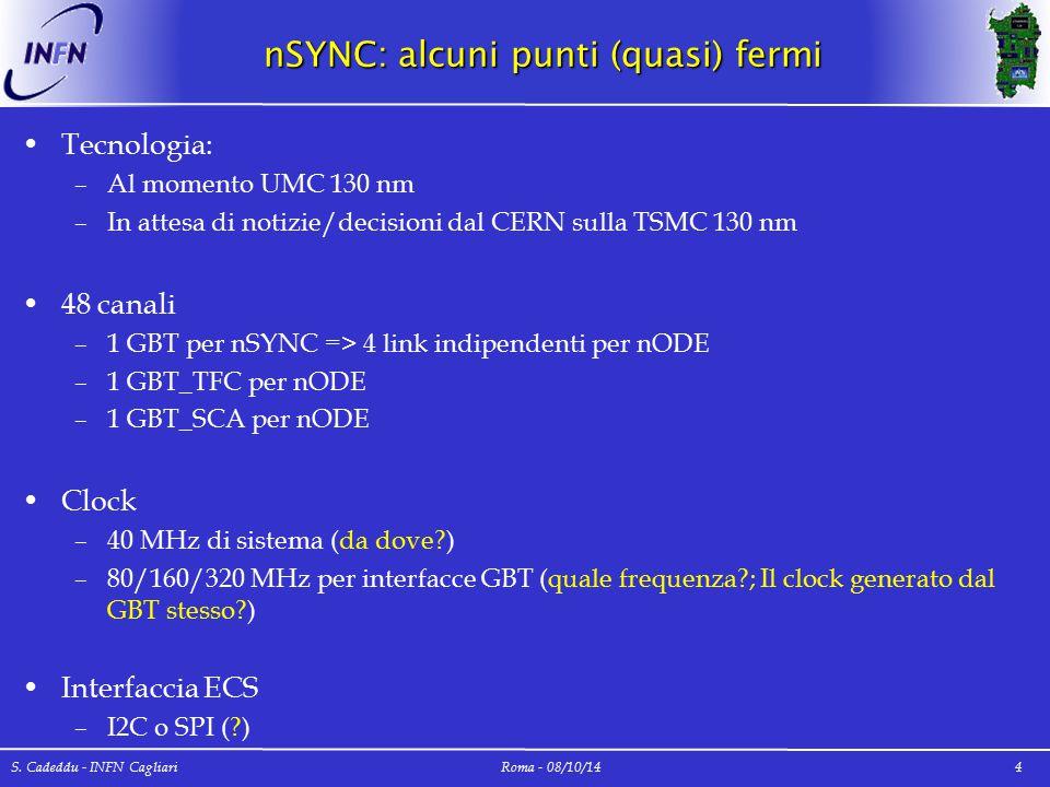 nSYNC: alcuni punti (quasi) fermi