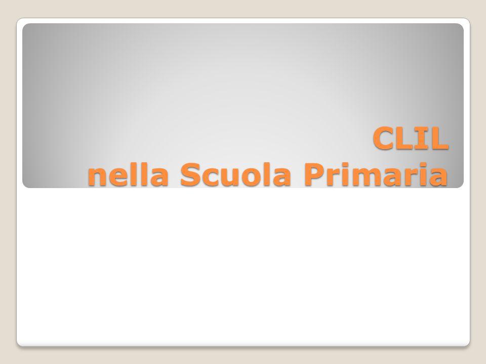 CLIL nella Scuola Primaria