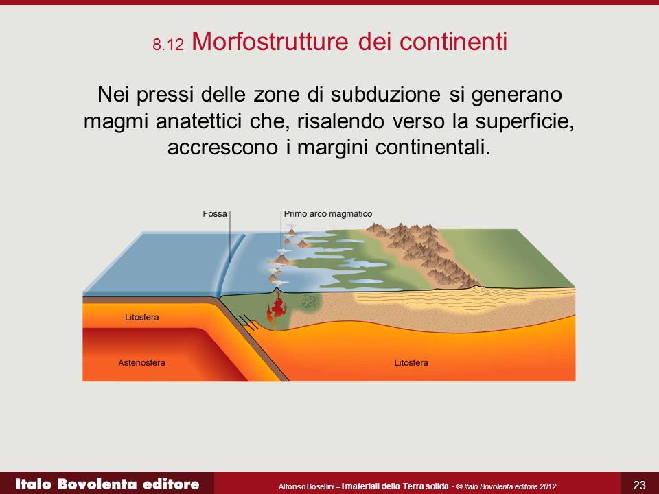 8.12 Morfostrutture dei continenti