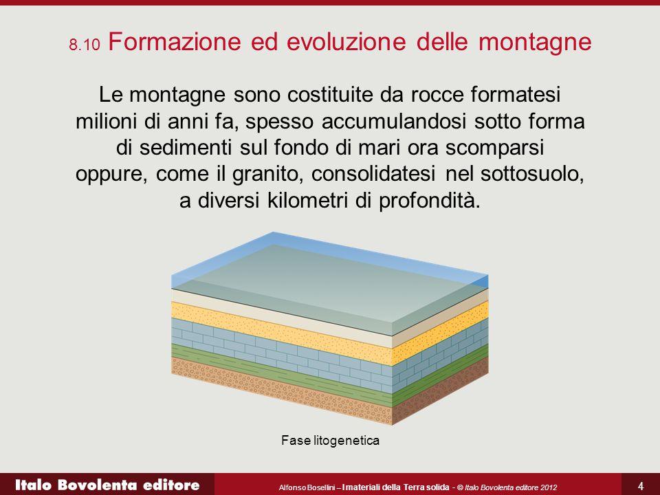 8.10 Formazione ed evoluzione delle montagne