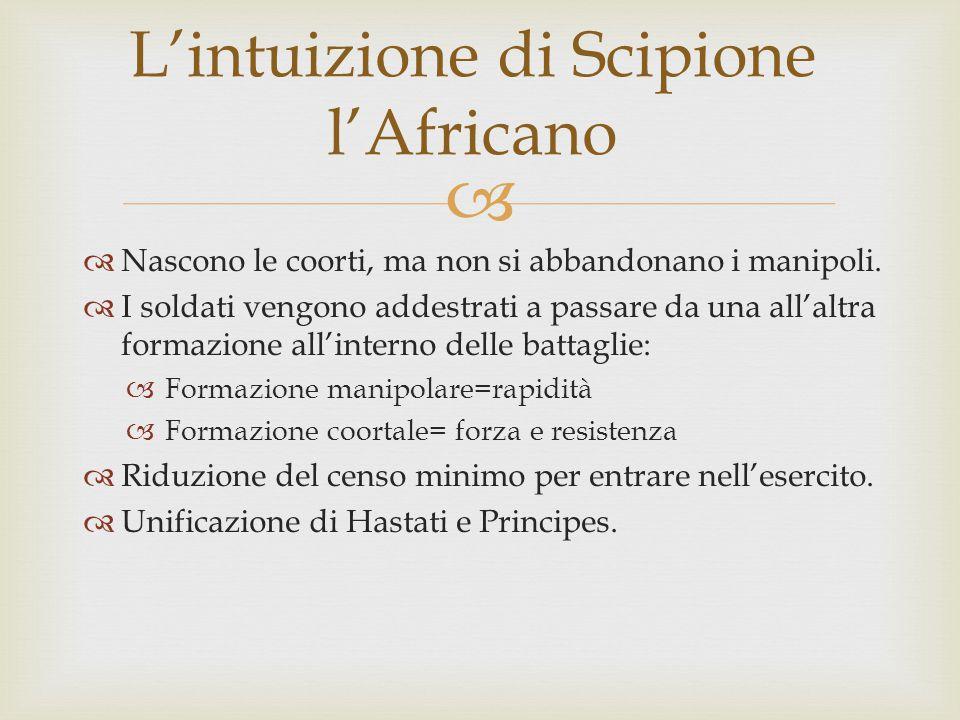 L'intuizione di Scipione l'Africano