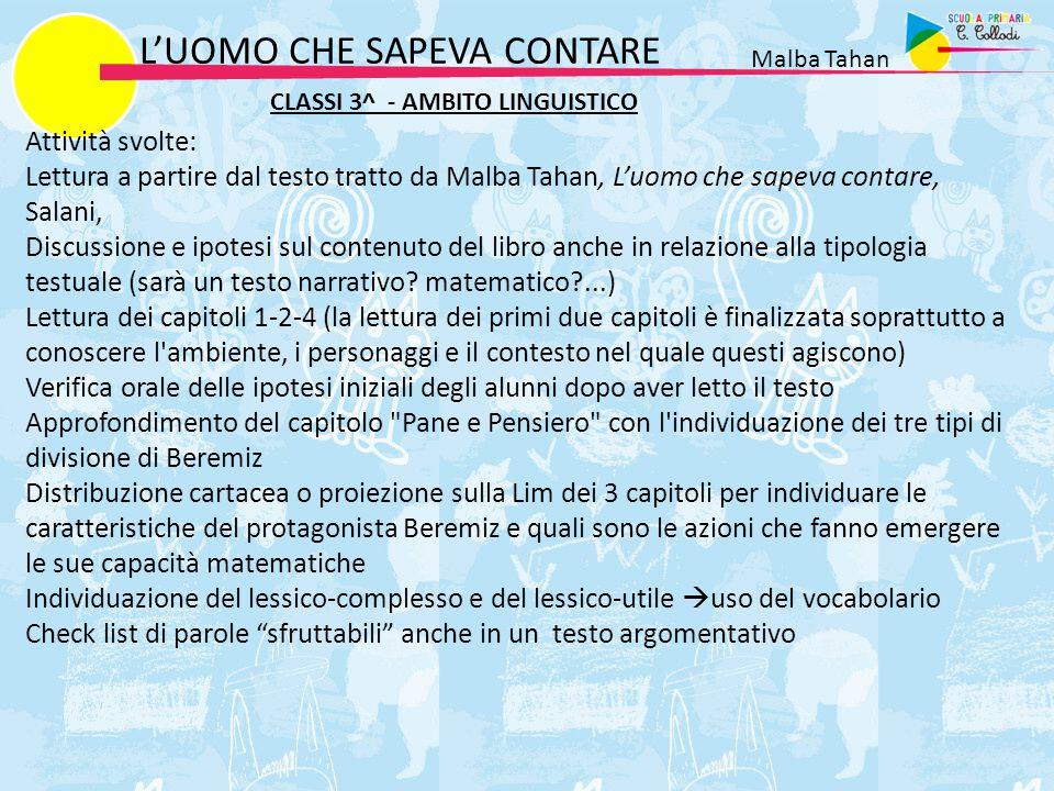 L'UOMO CHE SAPEVA CONTARE