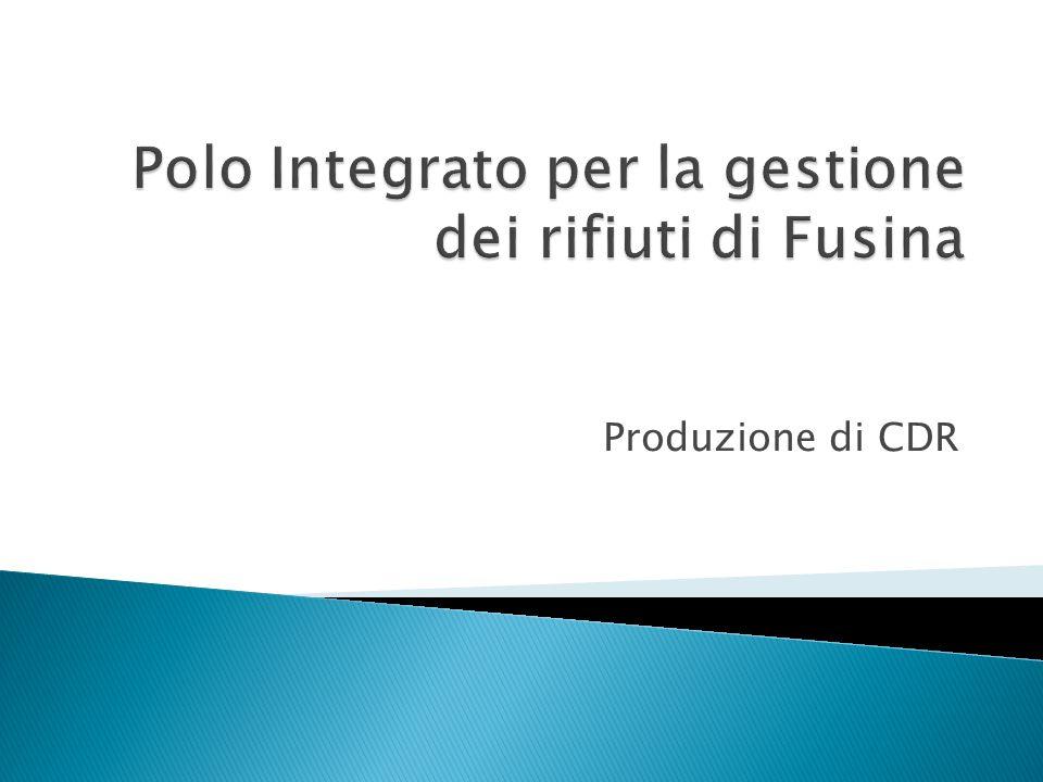 Polo Integrato per la gestione dei rifiuti di Fusina