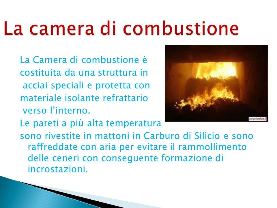 La camera di combustione