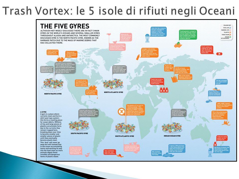 Trash Vortex: le 5 isole di rifiuti negli Oceani