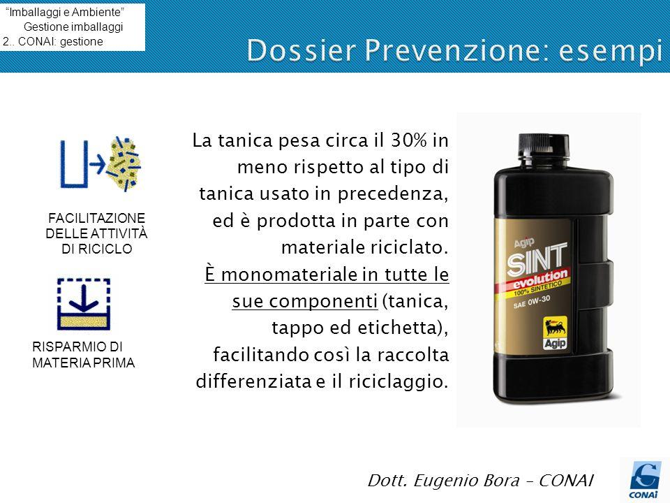 Dossier Prevenzione: esempi