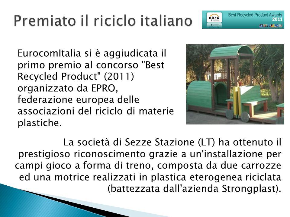 Premiato il riciclo italiano