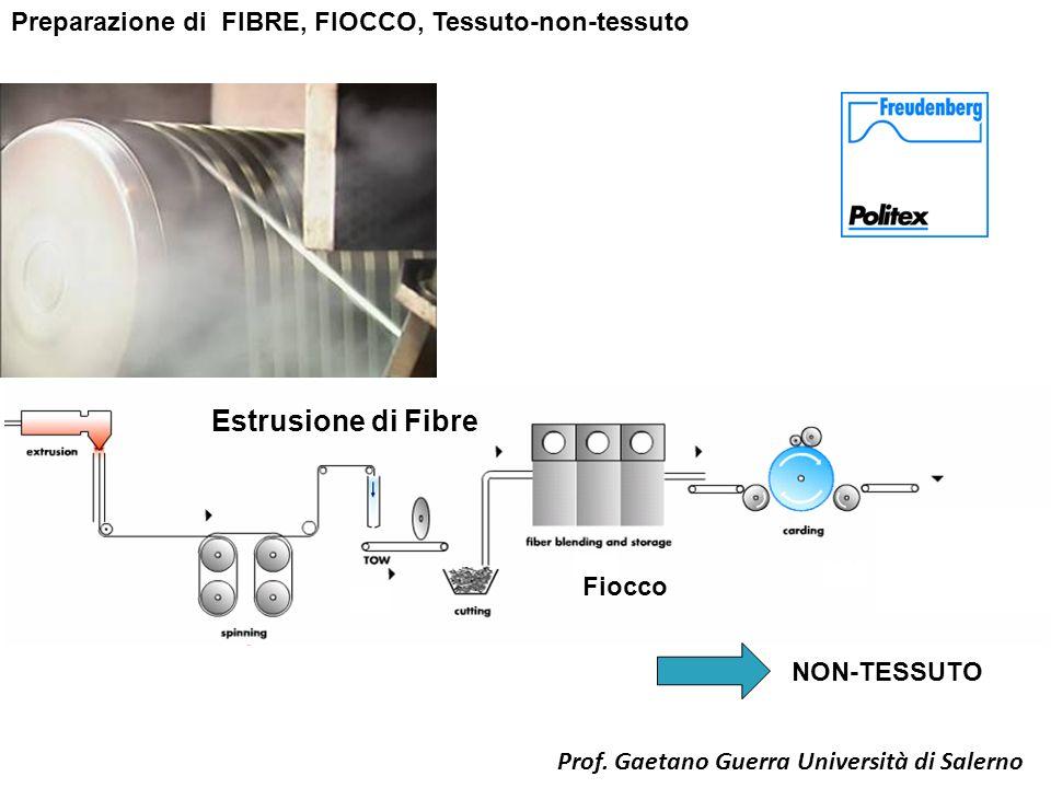 Estrusione di Fibre Preparazione di FIBRE, FIOCCO, Tessuto-non-tessuto