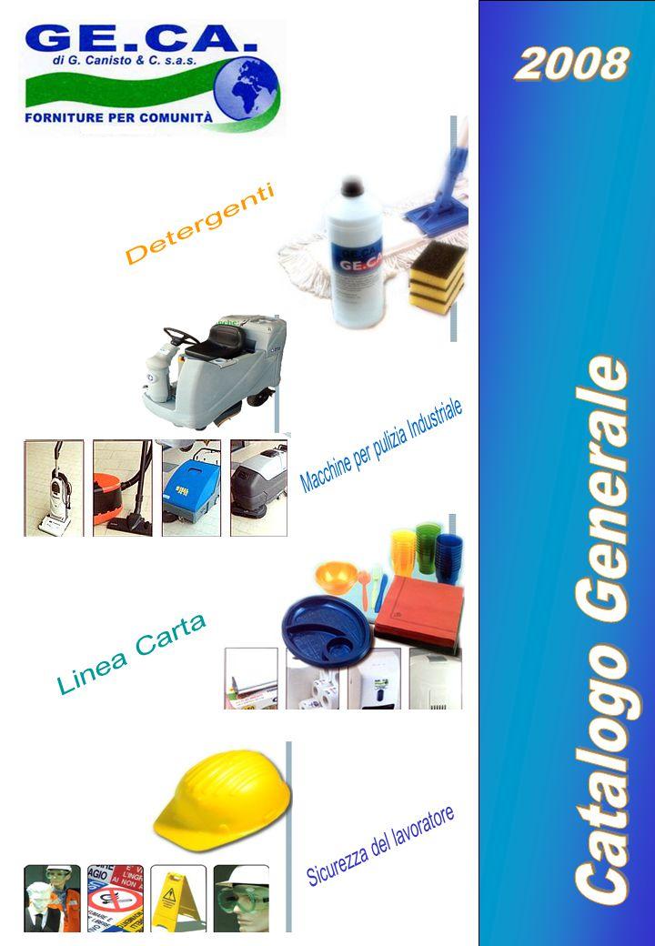 2008 Catalogo Generale Detergenti Macchine per pulizia Industriale