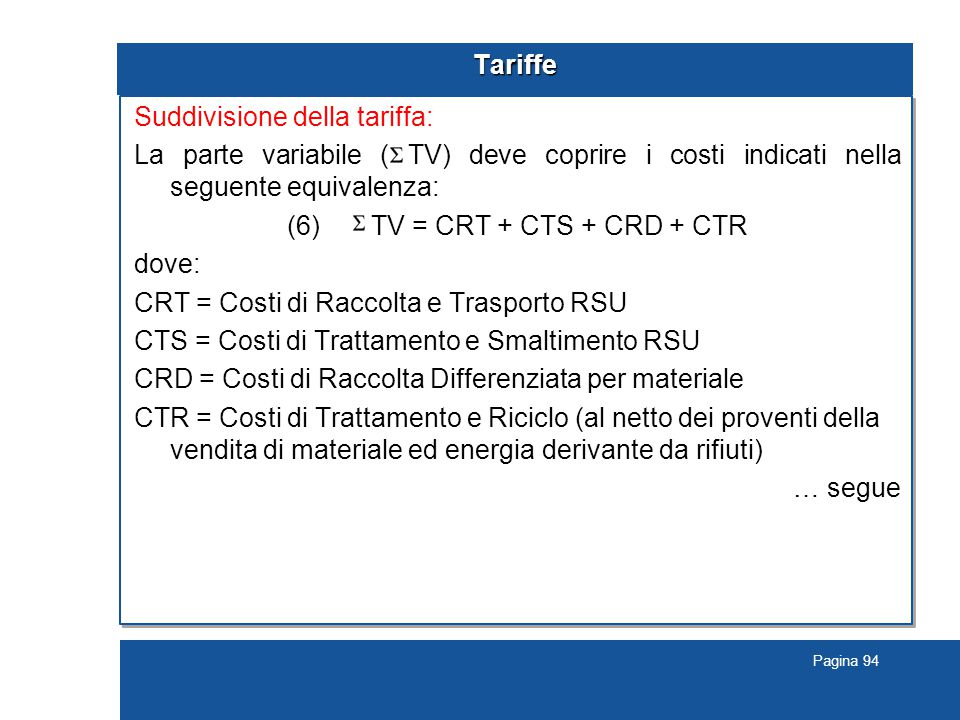 (6) TV = CRT + CTS + CRD + CTR