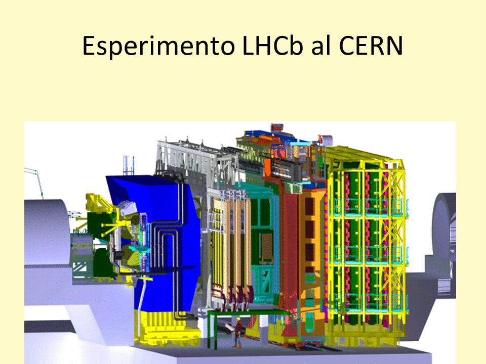 Esperimento LHCb al CERN