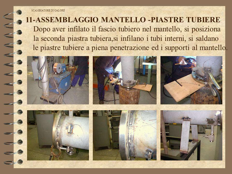 11-ASSEMBLAGGIO MANTELLO -PIASTRE TUBIERE
