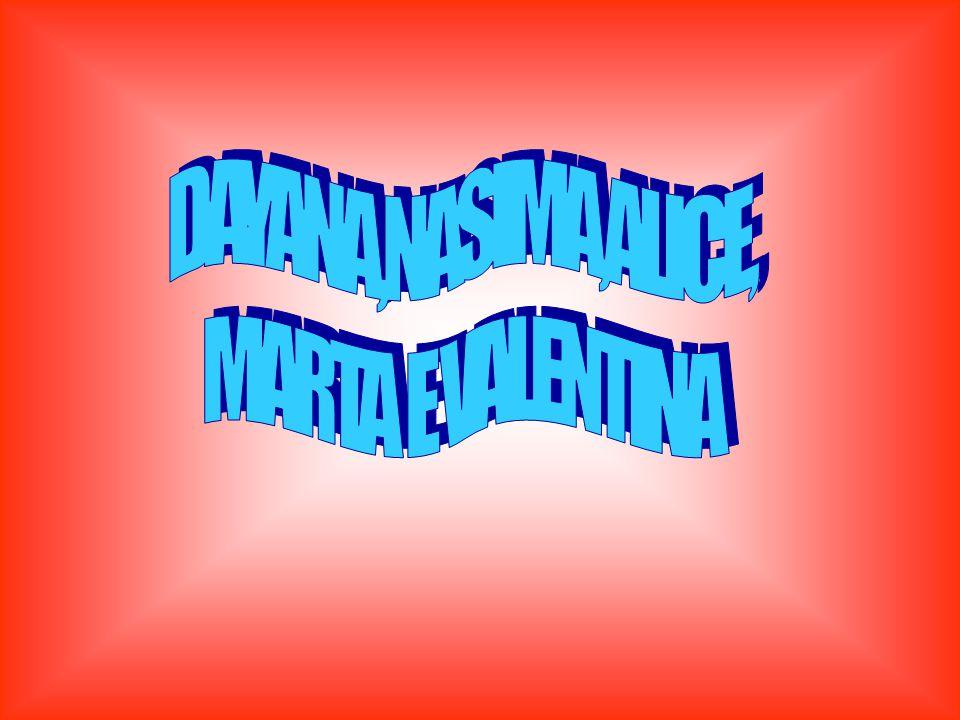 DAYANA,NASIMA,ALICE, MARTA E VALENTINA